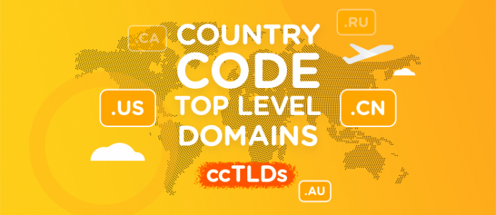 Country Code Top Level Domains - ccTLD