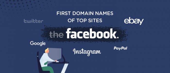 First Domain Names of Top Websites