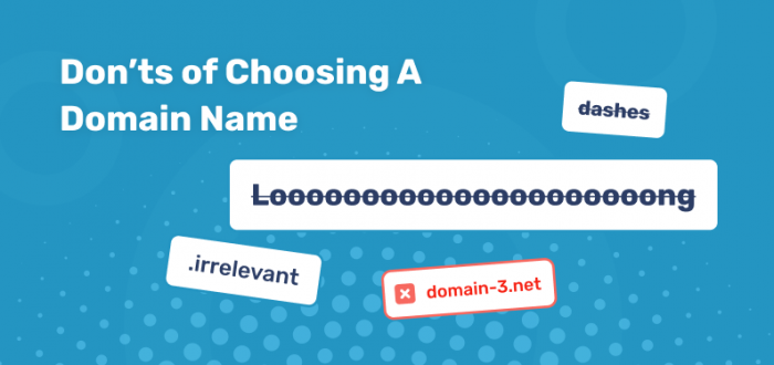 Choosing a Domain Name