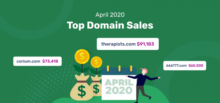 Top Domain Sales April 2020