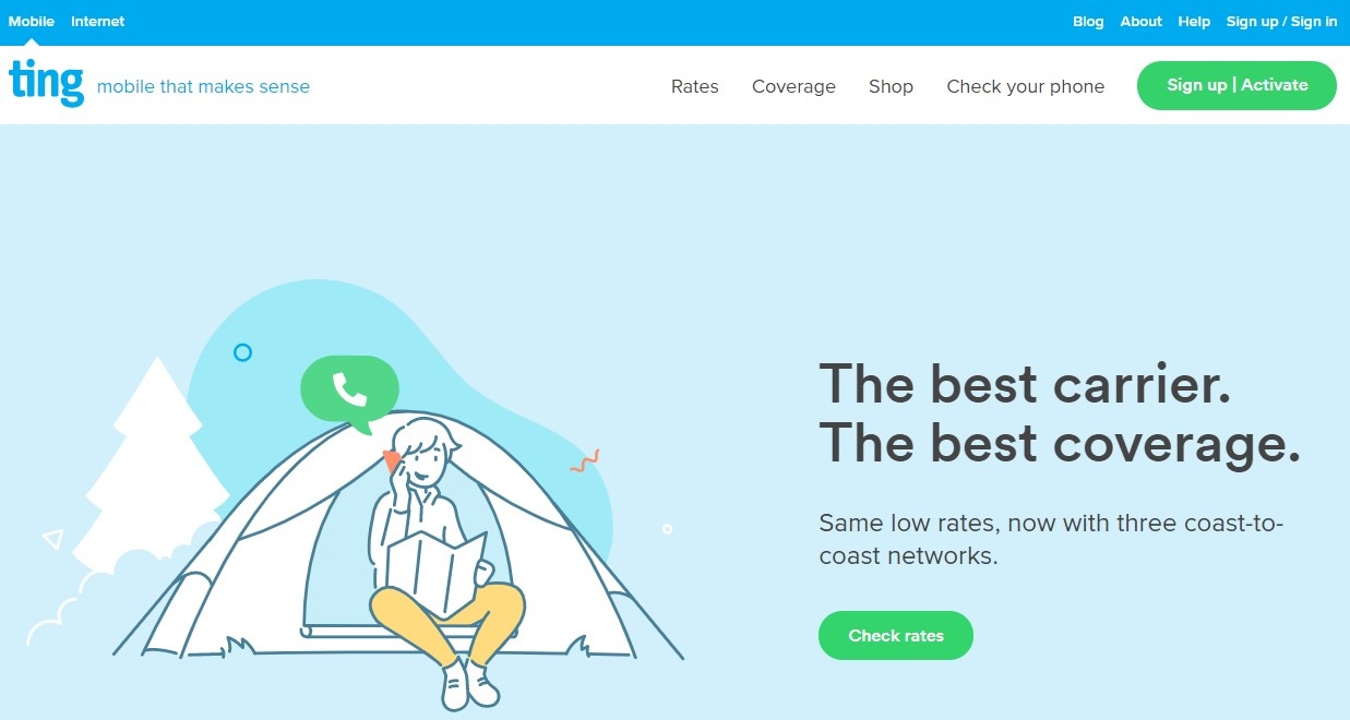Ting.com is Tucows' mobile network carrier.